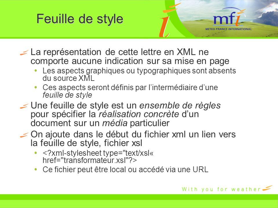 La représentation de cette lettre en XML ne comporte aucune indication sur sa mise en page Les aspects graphiques ou typographiques sont absents du so