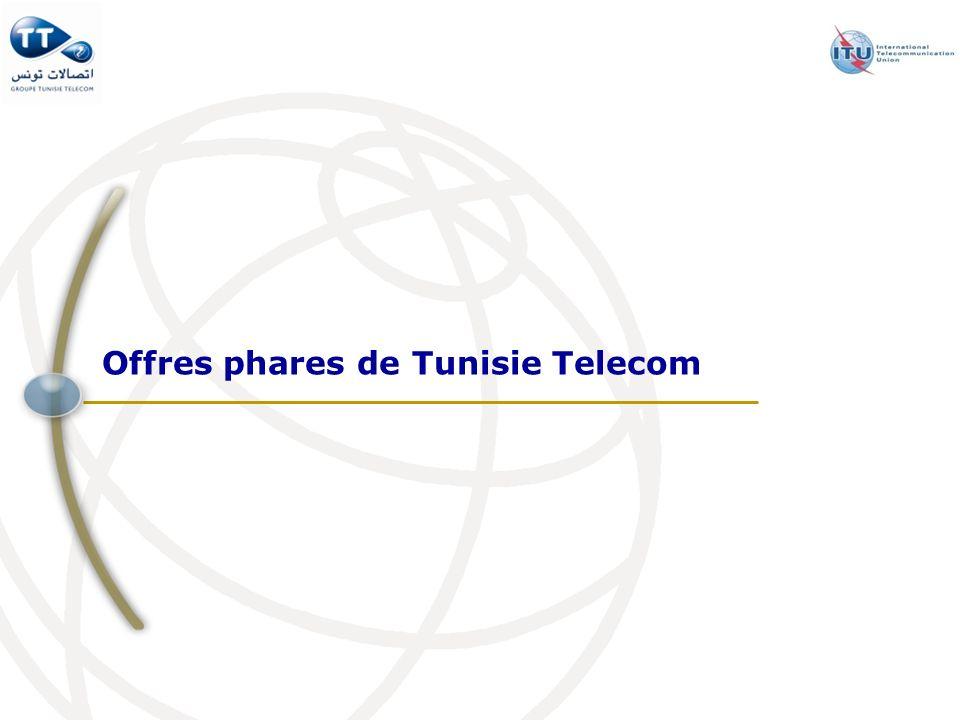 Offres phares de Tunisie Telecom