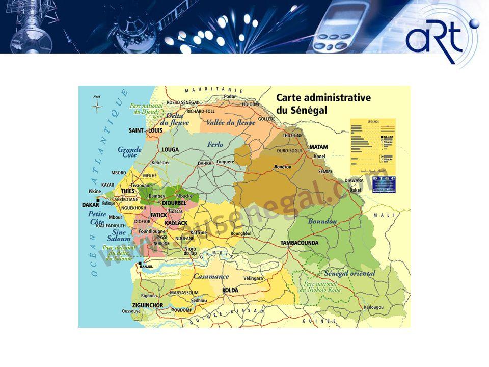 2 - PANORAMA DE LA RADIO ET DE LA TELEVISION Parc TV estimé à 1.200.000 de postes de télévision au Sénégal A Dakar, où vit 25 % de la population sénégalaise, prés de 70% des ménages sont équipés d un téléviseur.
