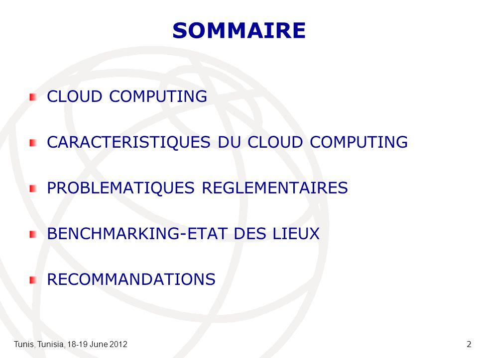 3 CLOUD COMPUTING Le Cloud Computing est un nouveau modèle économique, en pleine expansion ces dernières années.
