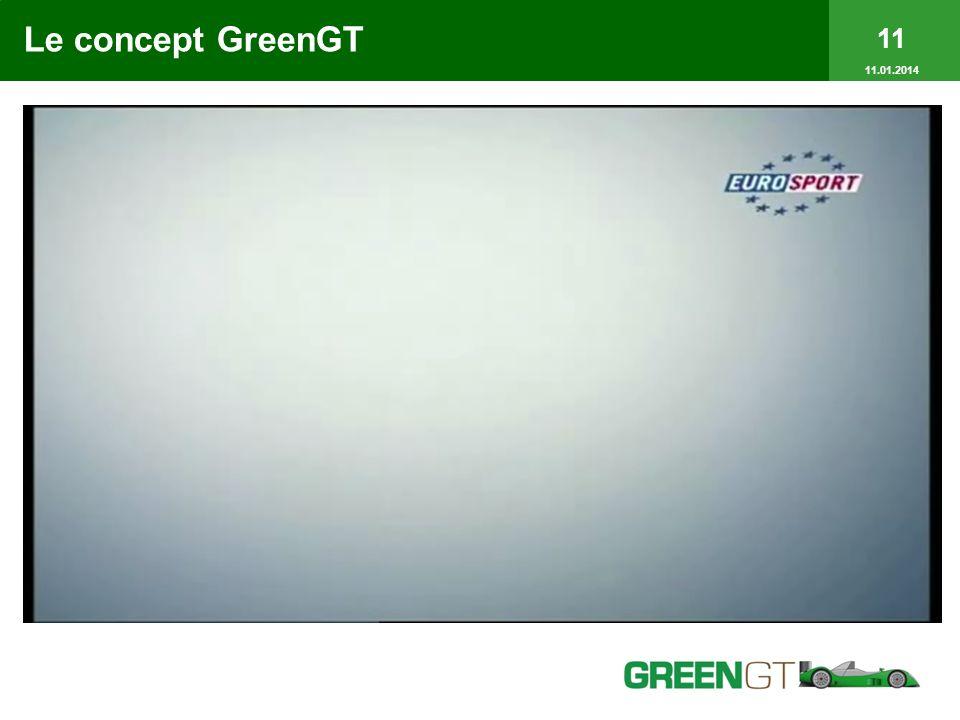 11 11.01.2014 Le concept GreenGT