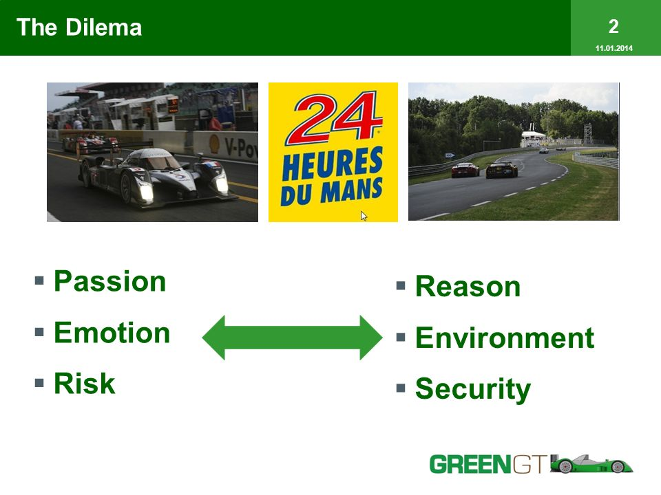 The Dilema Passion Emotion Risk Reason Environment Security