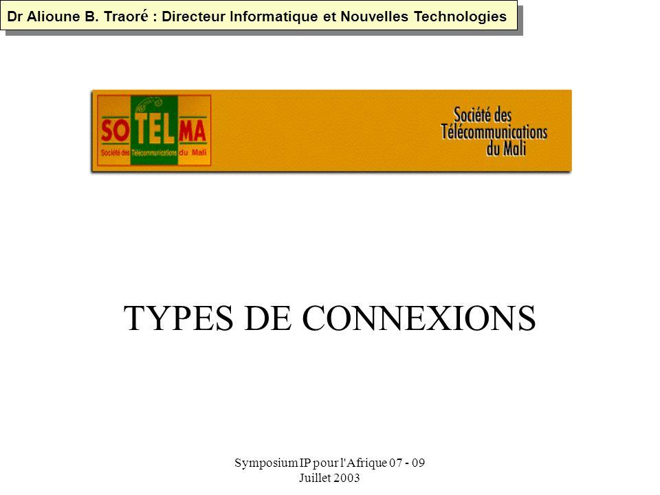 Symposium IP pour l Afrique 07 - 09 Juillet 2003 FO