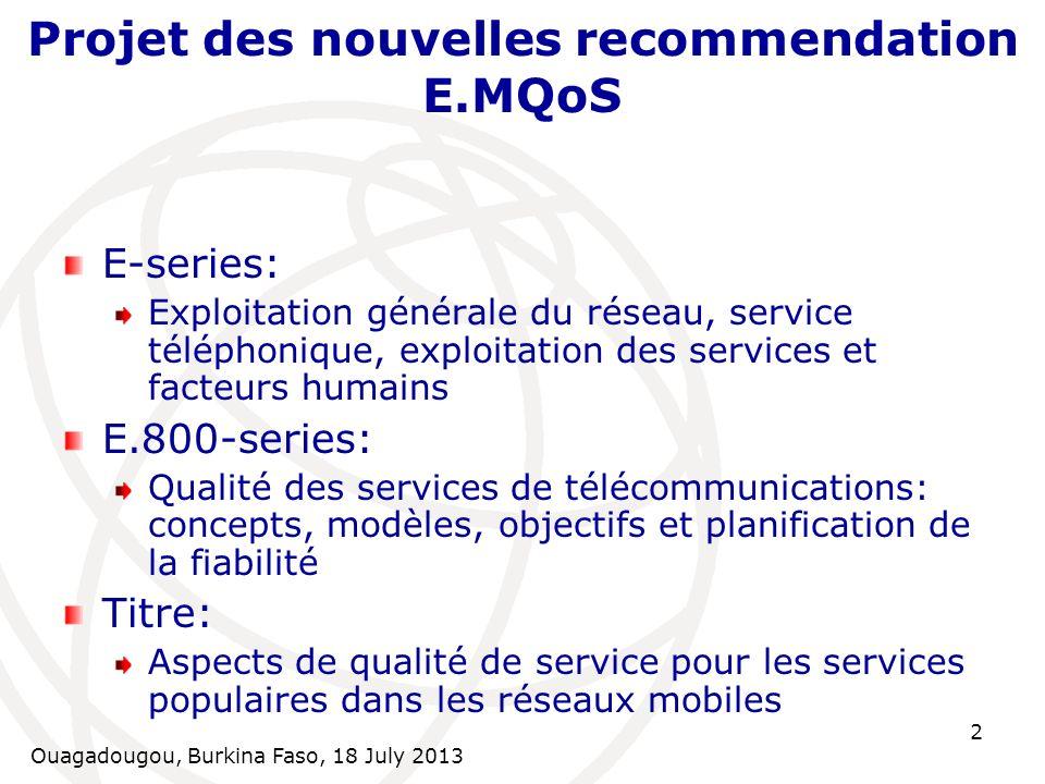 Ouagadougou, Burkina Faso, 18 July 2013 23 Intervalles de confiance pour les différentes tailles d échantillon (2)