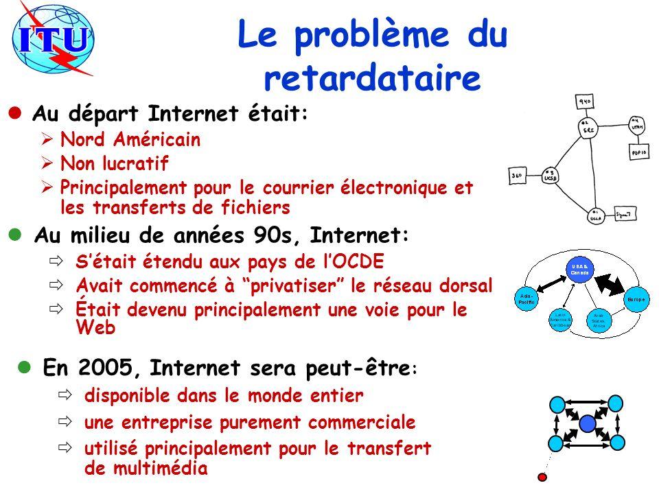En 2005, Internet sera peut-être : disponible dans le monde entier une entreprise purement commerciale utilisé principalement pour le transfert de mul