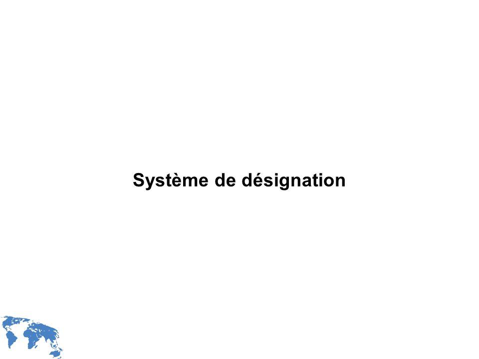 WIPO Recentdv03-20 Système de désignation