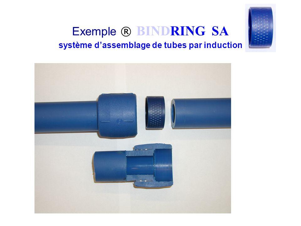 Exemple ® BINDRING SA système dassemblage de tubes par induction