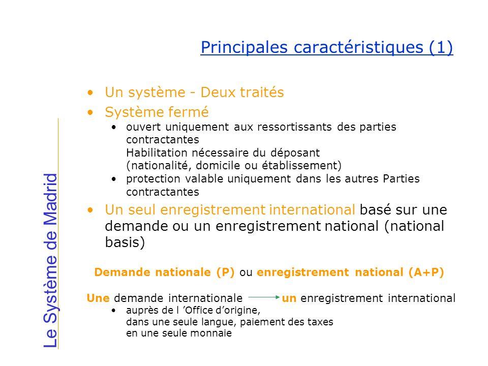 Un système - Deux traités Système fermé ouvert uniquement aux ressortissants des parties contractantes Habilitation nécessaire du déposant (nationalit
