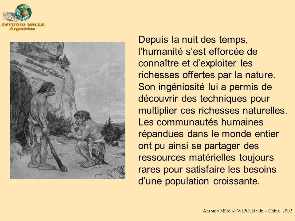 Depuis la nuit des temps, lhumanité sest efforcée de connaître et dexploiter les richesses offertes par la nature.