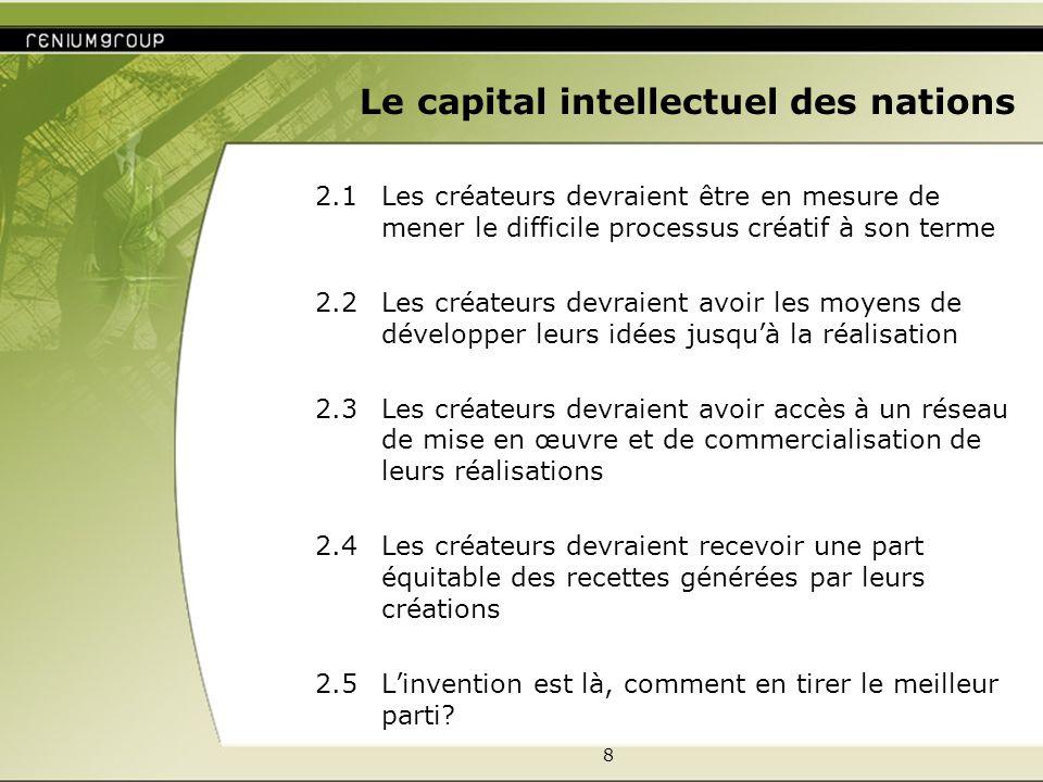 9 Le capital intellectuel des nations 3.
