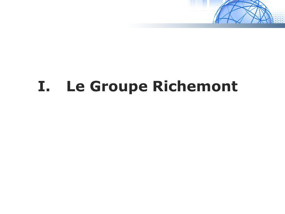 Madrid System I.Le Groupe Richemont
