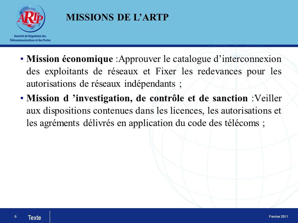 Fevrier 2011 Texte LUAT a été créée en 1977 en tant quinstitution spécialisée de lOrganisation de lUnité Africaine, aujourd hui lUnion Africaine dans le domaine des télécommunications.