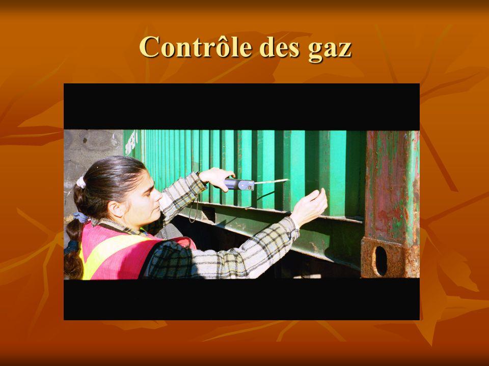 Contrôle des gaz