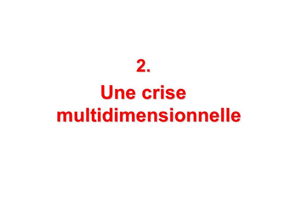 2. Une crise multidimensionnelle