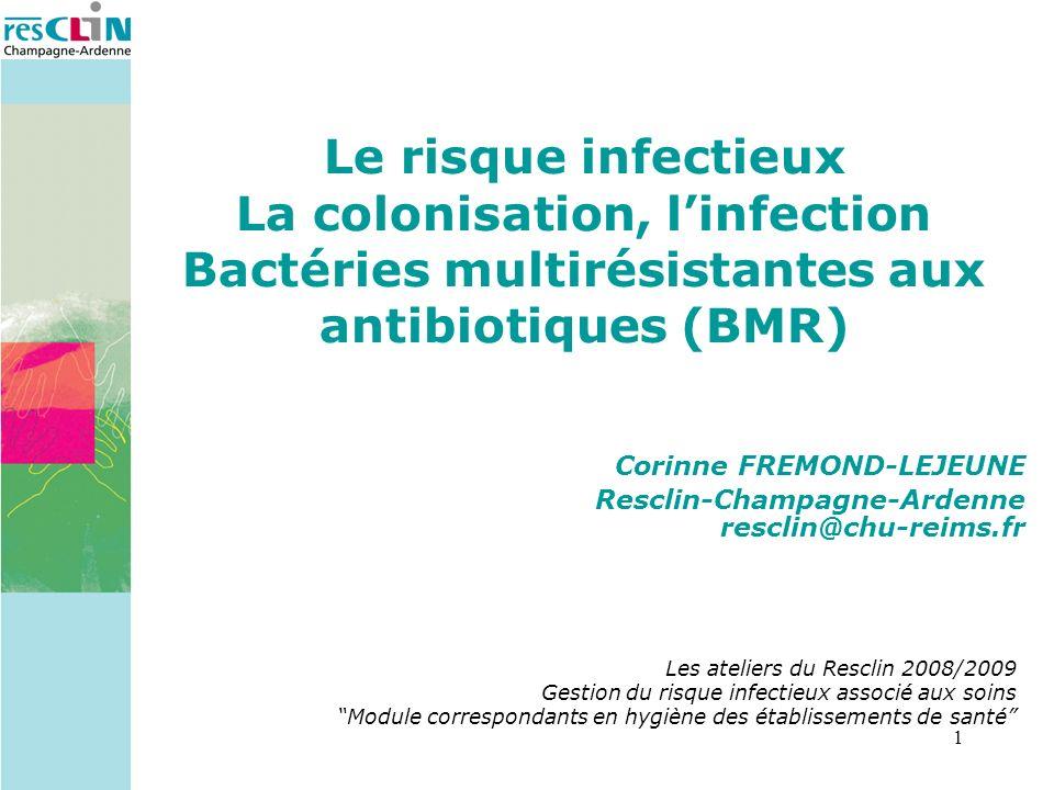 2 Quelle différence entre Colonisation et infection ?