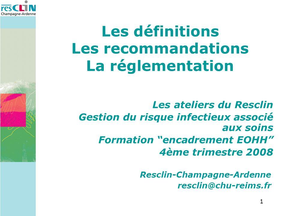 12 Précautions standard (PS)