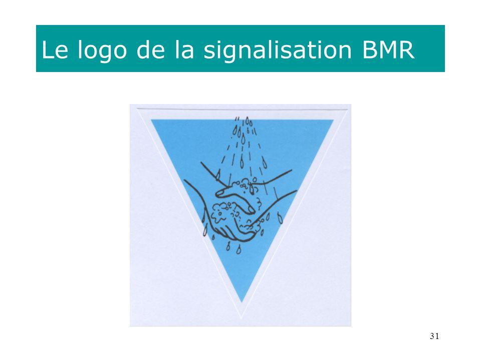 31 Le logo de la signalisation BMR