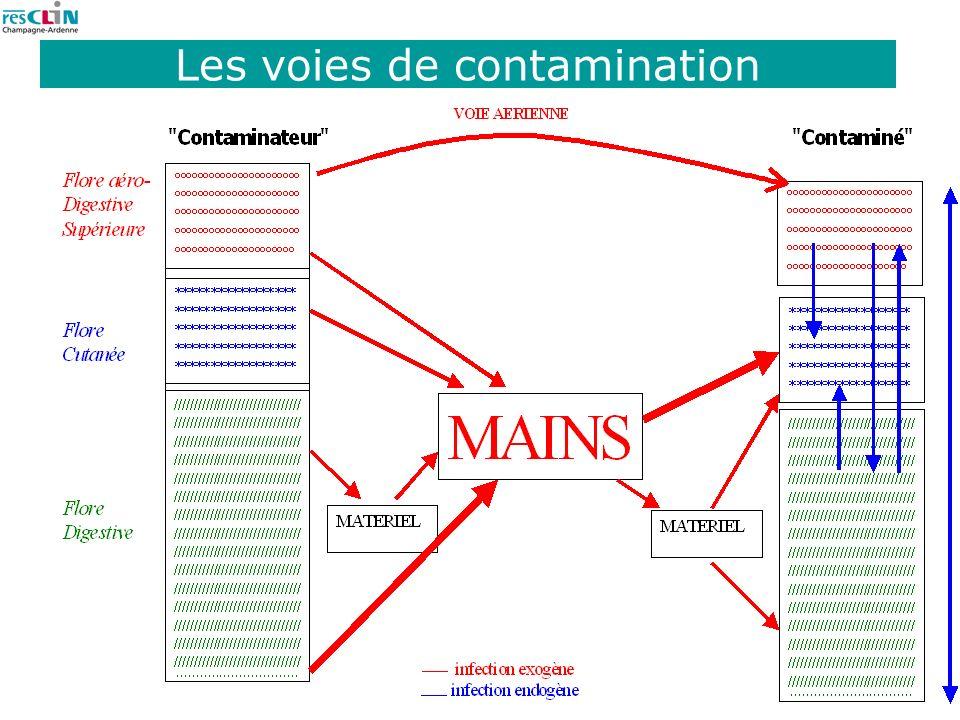 6 Les voies de contamination