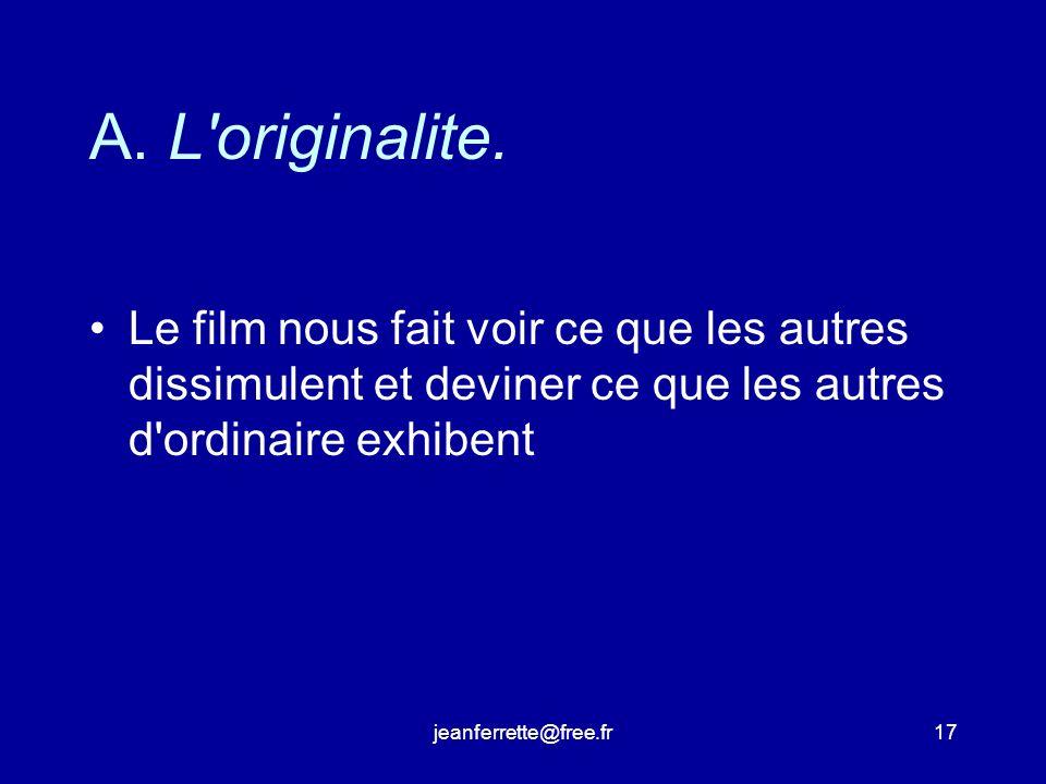 jeanferrette@free.fr16 Les quatre critères «professionnels» de jugement