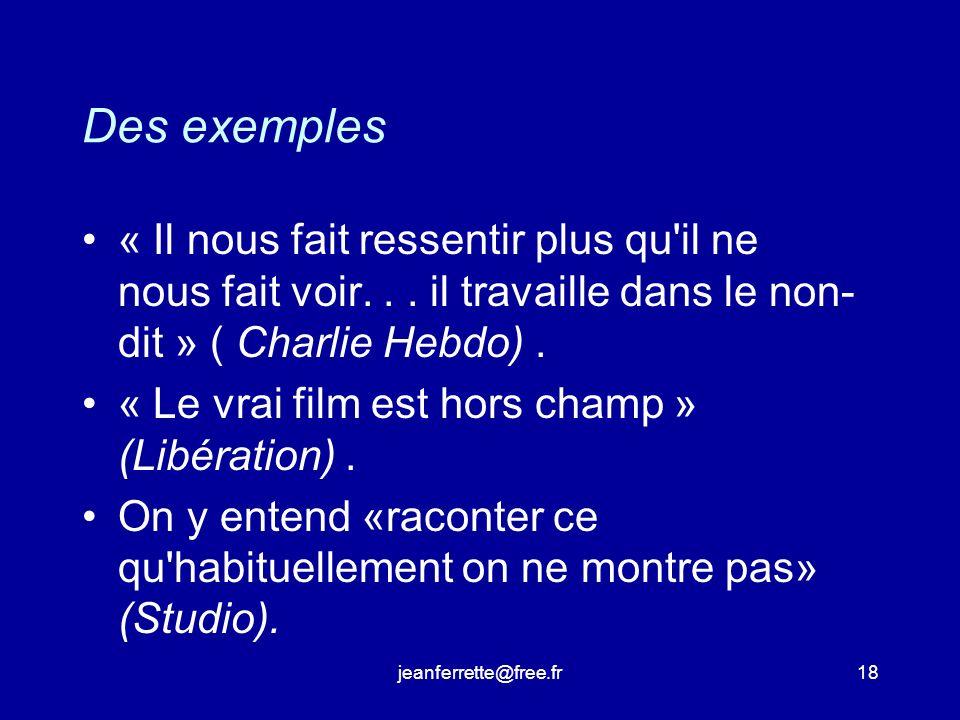 jeanferrette@free.fr17 A. L originalite.