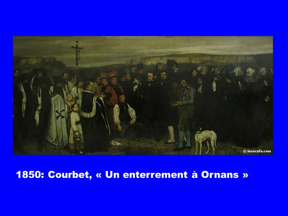 L autonomisation de l artiste Évolution du rapport artistes/commanditaires Apparition des marchands entre l artiste et les nouveaux publics Développem