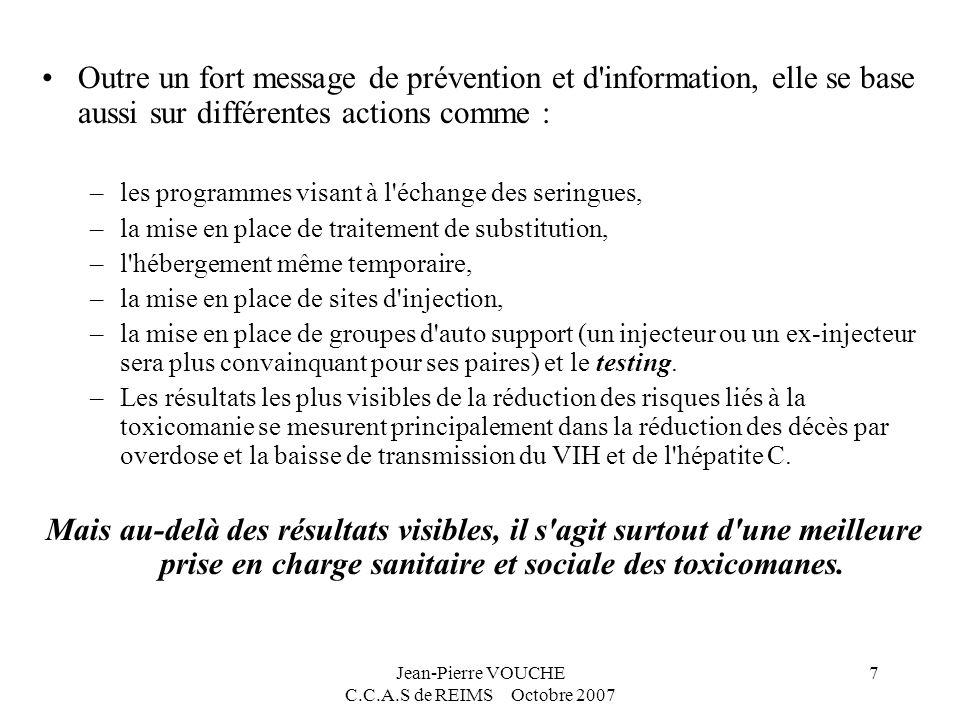 Jean-Pierre VOUCHE C.C.A.S de REIMS Octobre 2007 8 illustrations Cas cliniques et questions sur les cas difficiles…