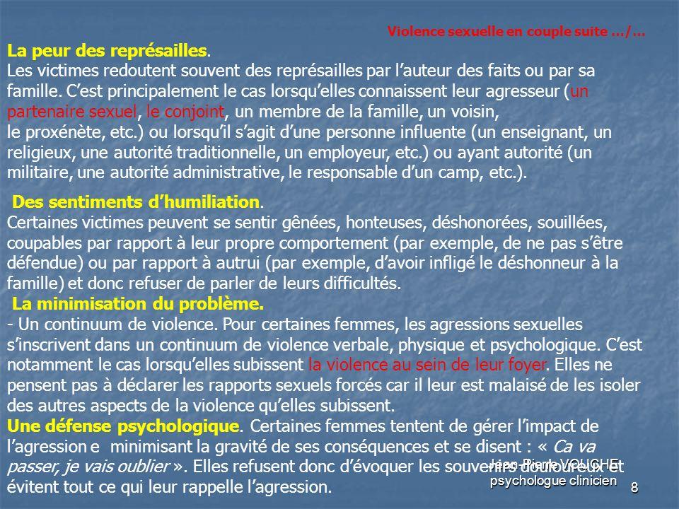9 Jean-Pierre VOUCHE psychologue clinicien Les normes propres à une communauté.