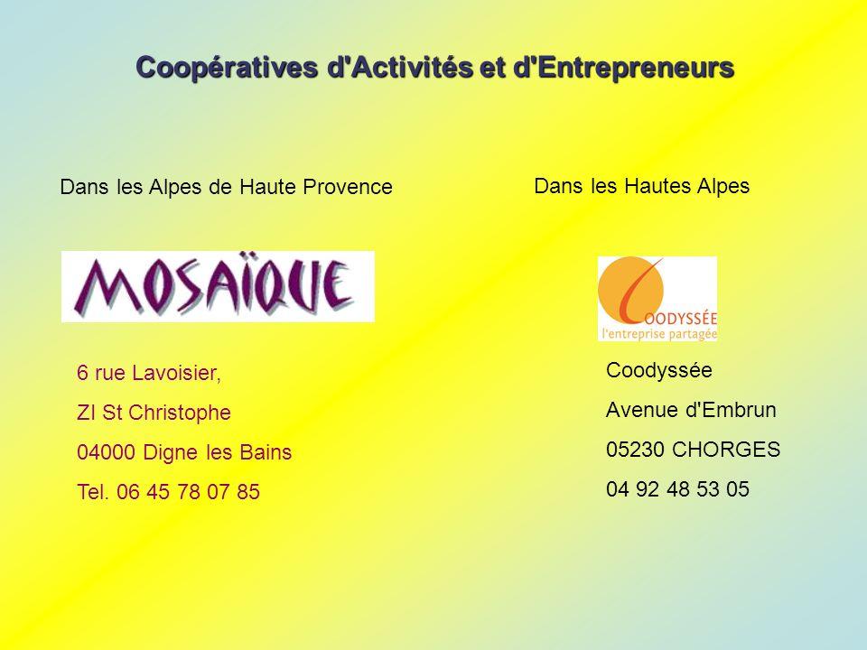 6 rue Lavoisier, ZI St Christophe 04000 Digne les Bains Tel.