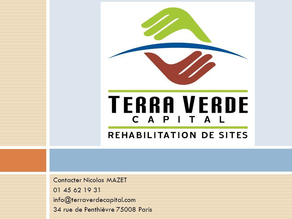 Contacter Nicolas MAZET 01 45 62 19 31 info@terraverdecapital.com 34 rue de Penthièvre 75008 Paris