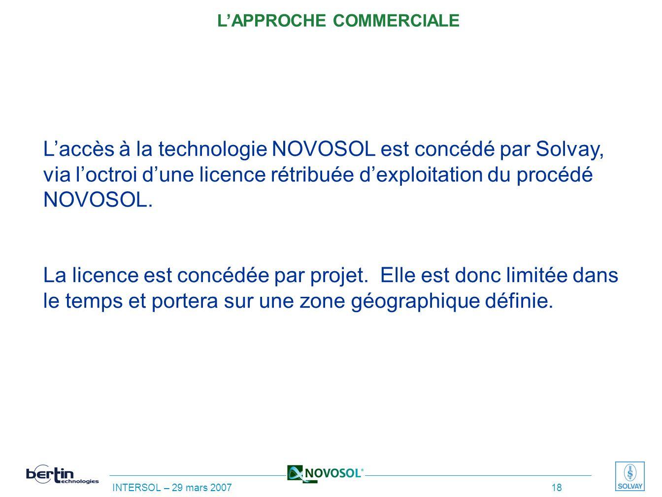 INTERSOL – 29 mars 2007 17 * cas de percolation contaminée par de la chaux répandue sur la route * Composition du sable-ciment - calcaire 0/6 mm 63% -