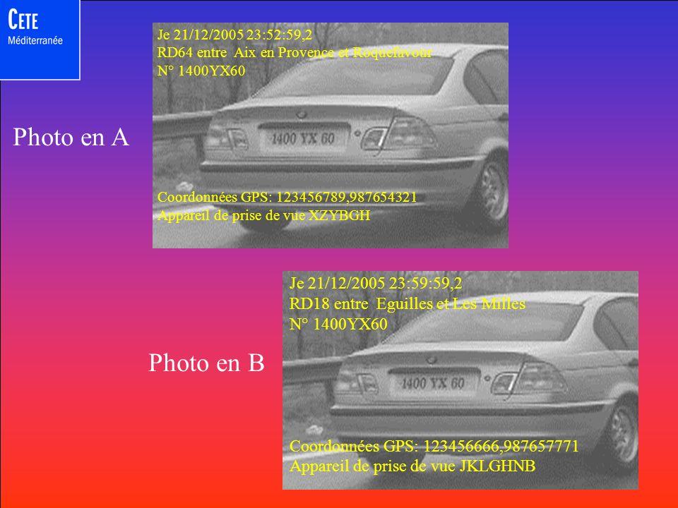 70 90 A A Le temps de parcours minimal compatible avec les prescriptions de vitesse sur l itinéraire de 4,871 km cartographié ci- dessous est déterminé par les éléments suivants : 900m à 90km/h : 108,8s 1512m à 50km/h: 52,6s 1024m à 70km/h: 103,3s 1435m à 50km/h: 300,8s Total : 5mn00s Distance 4871m Vitesse moyenne maximale admissible: 58,2 km/h
