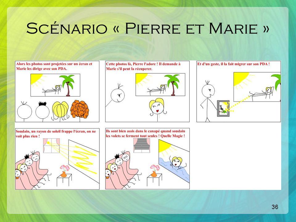 36 Scénario « Pierre et Marie »