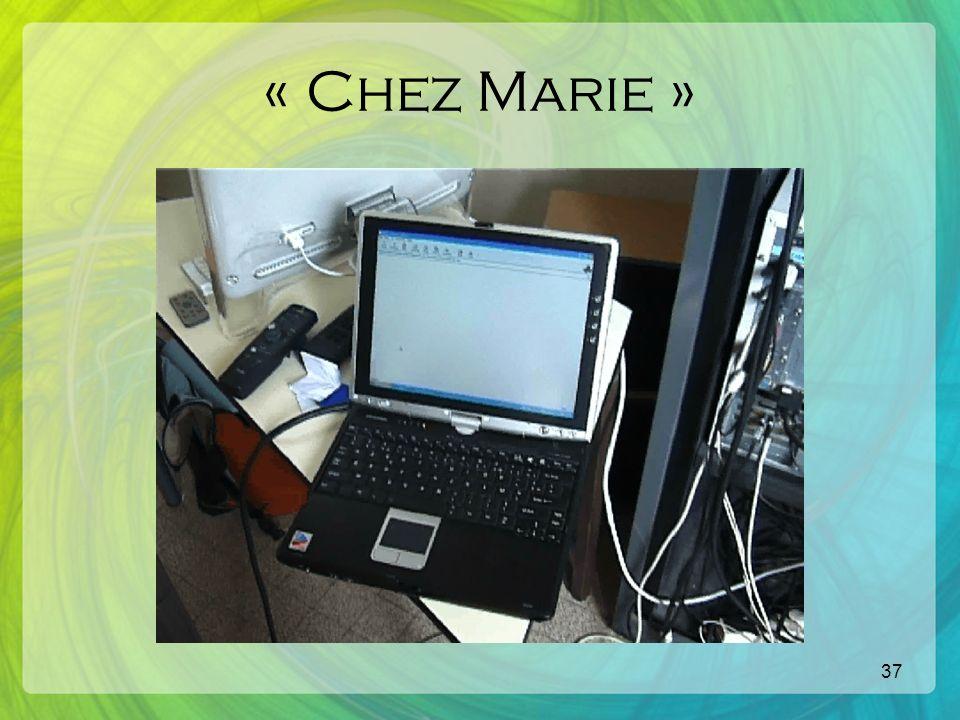 37 « Chez Marie »