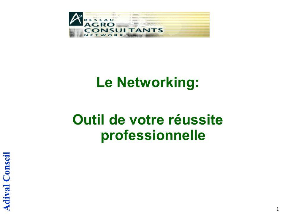 Adival Conseil 1 Le Networking: Outil de votre réussite professionnelle