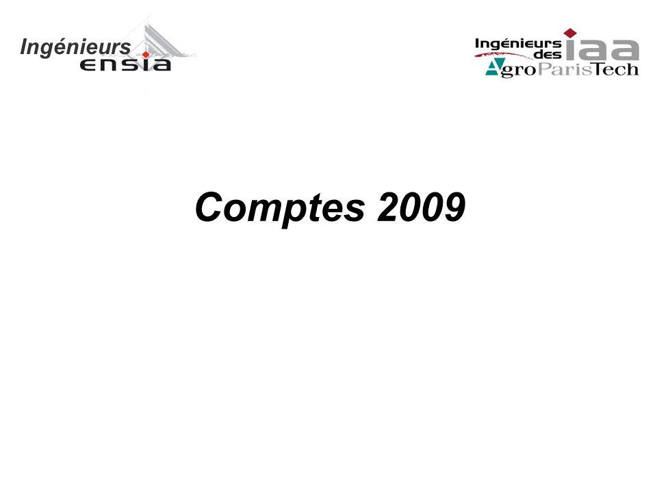 Ingénieurs Comptes 2009