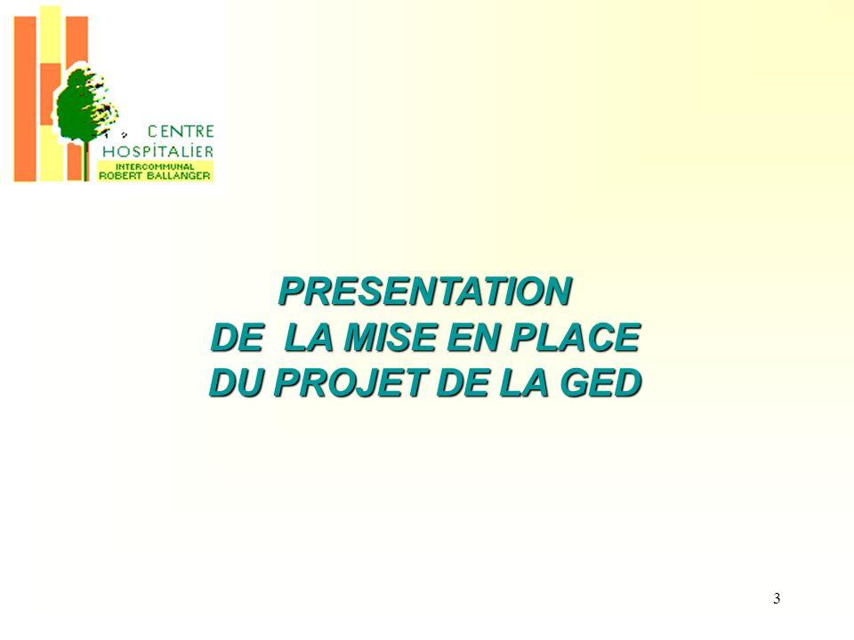 4 PLAN I.Objectifs du projet I.1 Généraux I.2 Propres à CHIRB II.