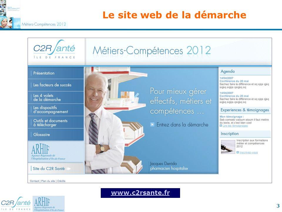 3 Le site web de la démarche www.c2rsante.fr
