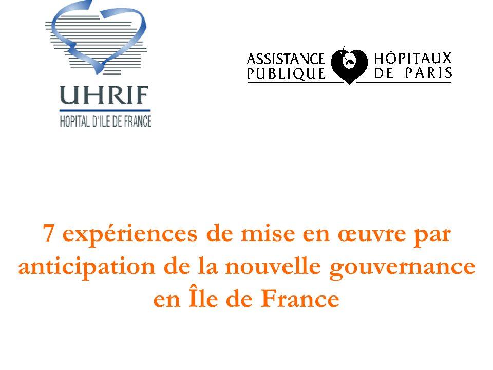 7 expériences de mise en œuvre par anticipation de la nouvelle gouvernance en Île de France