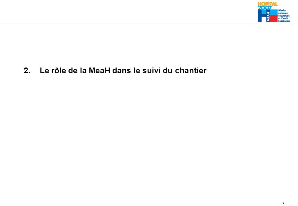 5 2. Le rôle de la MeaH dans le suivi du chantier