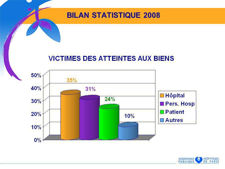 BILAN STATISTIQUE 2008