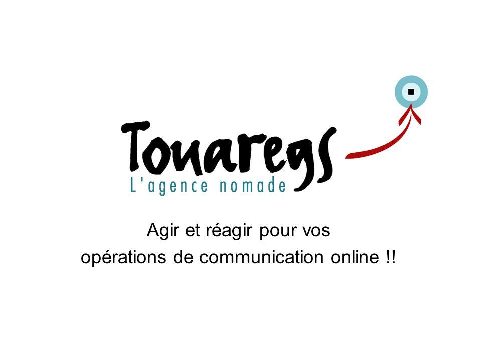 Touaregs : 152 avenue Daumesnil 75012 Paris- SARL au capital de 10000 - RCS Paris B 432788719 2 V a l e u r s & P h i l o s o p h i e Touaregs structure dédiée au monde de la communication online, vous accompagne en amont et en aval jusquà laboutissement de vos projets 2 Notre idée: Une structure souple pour répondre aux attentes des agences