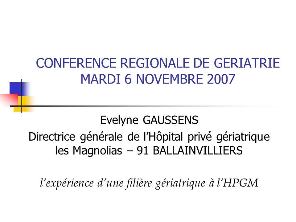 2 Lexpérience de lhôpital gériatrique les Magnolias Etablissement de santé privé spécialisé en gériatrie, participant au service public hospitalier (PSPH), adhérant de la FEHAP et fondé par les caisses de retraite AGIRC-ARRCO, en 1974, pour développer des expériences innovantes.
