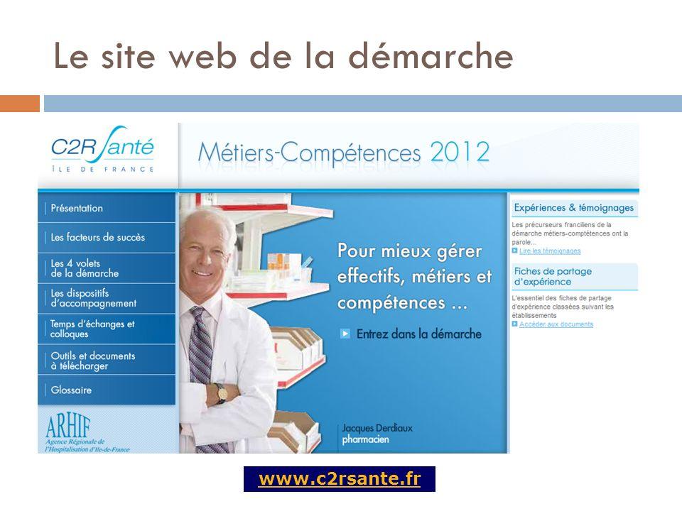 Le site web de la démarche www.c2rsante.fr