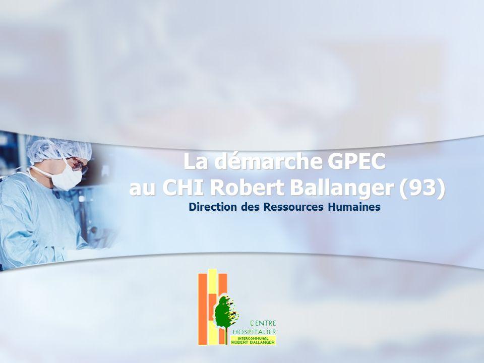 La démarche GPEC au CHI Robert Ballanger (93) Direction des Ressources Humaines