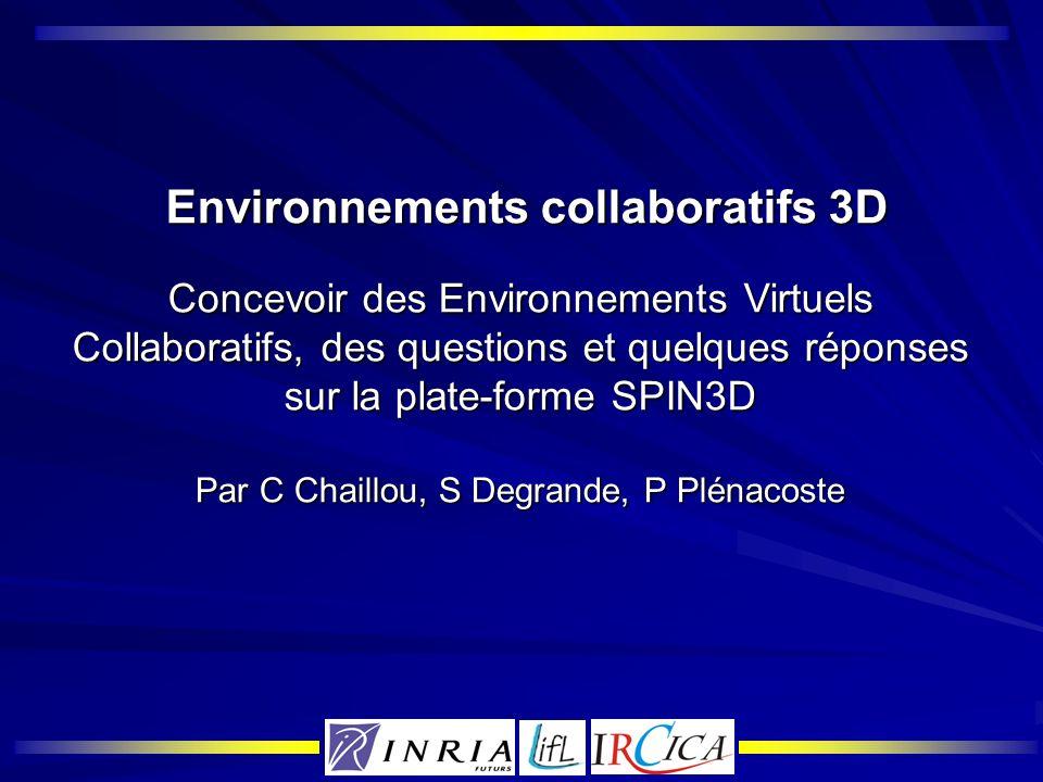 Communication via le visage Utilisation de clones réalistes Utilisation de clones réalistes Personne réelle Clone temps réel Analyse traitement temps réel Synthèse déformation du modèle 3D