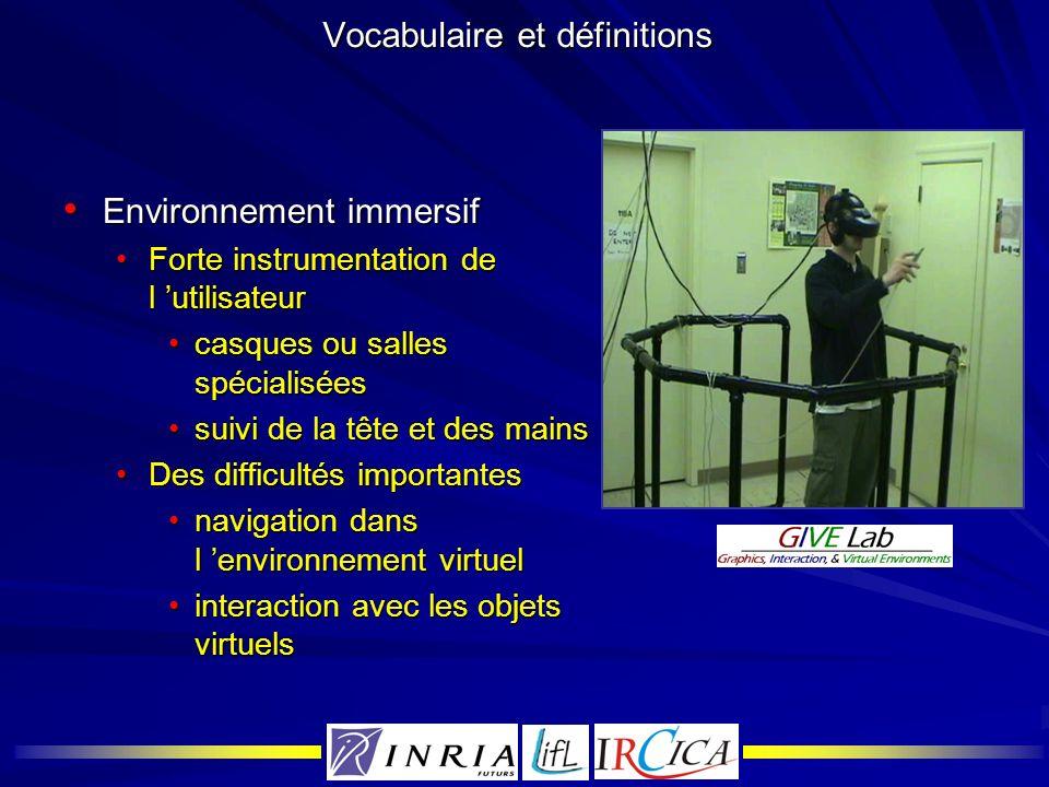 La plate-forme Spin3D Concepts sur lesquels reposent Spin3D Concepts sur lesquels reposent Spin3D Contact visuelContact visuel Conscience du regardConscience du regard Continuité : même espaceContinuité : même espace Qualité sonoreQualité sonore Perception directe de lenvironnement et des interactionsPerception directe de lenvironnement et des interactions Le tout visibleLe tout visible Animation temps réelAnimation temps réel Centre dintérêtCentre dintérêt