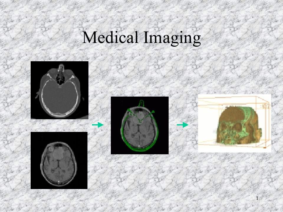 1 Medical Imaging