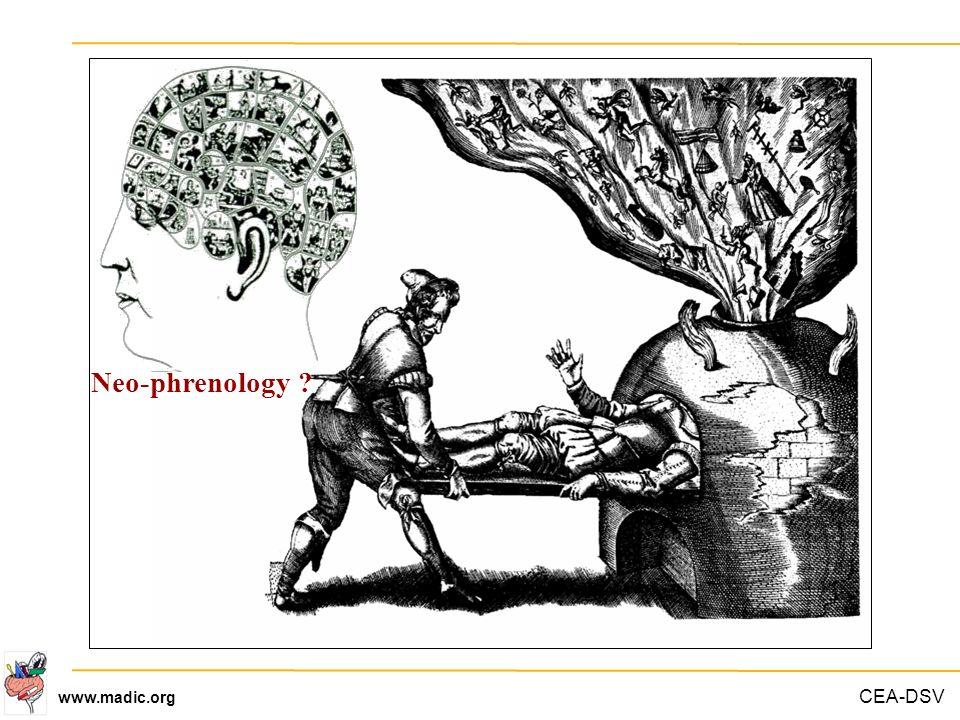 CEA-DSV www.madic.org Neo-phrenology ?