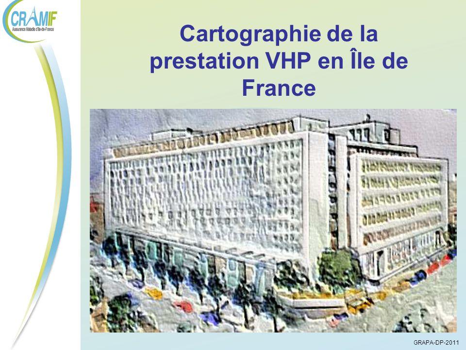 Évolution du nombre de Fournisseurs de Matériel de Traitement et de Véhicules pour Handicapés Physiques en Ile de France