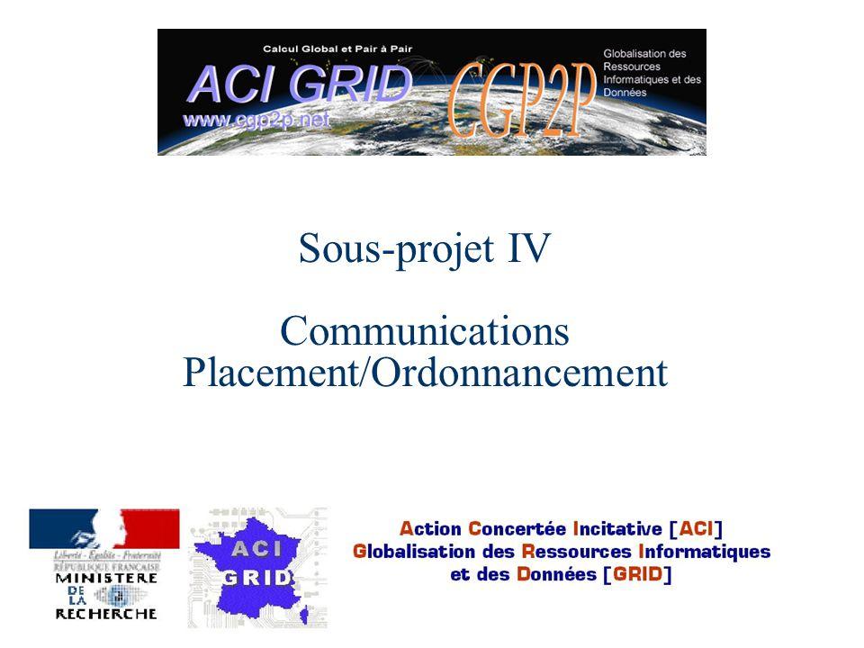 ACI GRID CGP2P 30/01/02 SP 4 : participants l George Bosilca(doctorant) l Franck Cappello(CR CRNS) l Adberhamanne Djilali(doctorant) l Gilles Fedak(doctorant) l Cecile Germain(MC Univ.